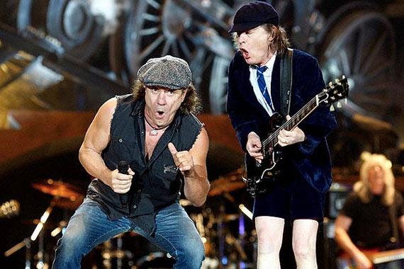 Trupa AC/DC va concerta in Romania [zvon]