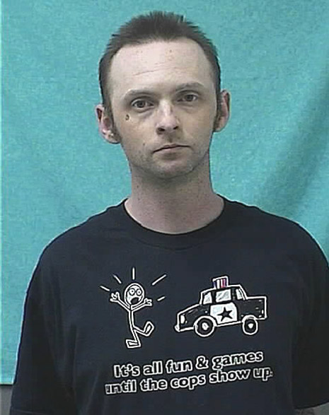 stupid shirt mugshot